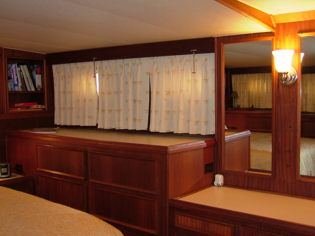 3 Master Stateroom, looking to port