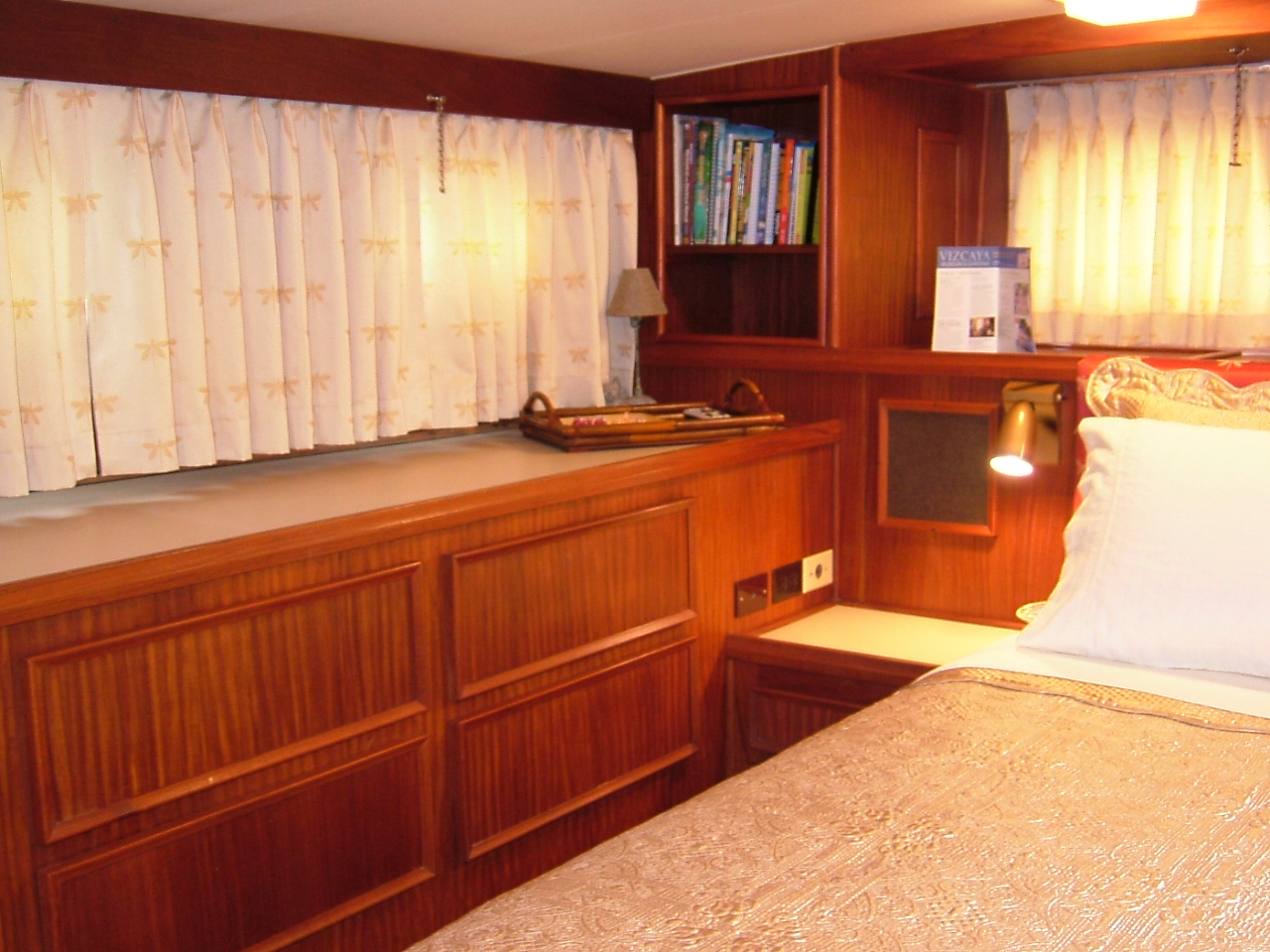 2 Master Stateroom, looking to starboard